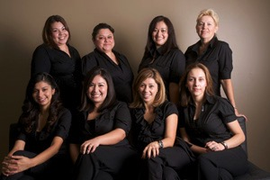 Front-office staff at Personal Dental Office in Los Angeles CA